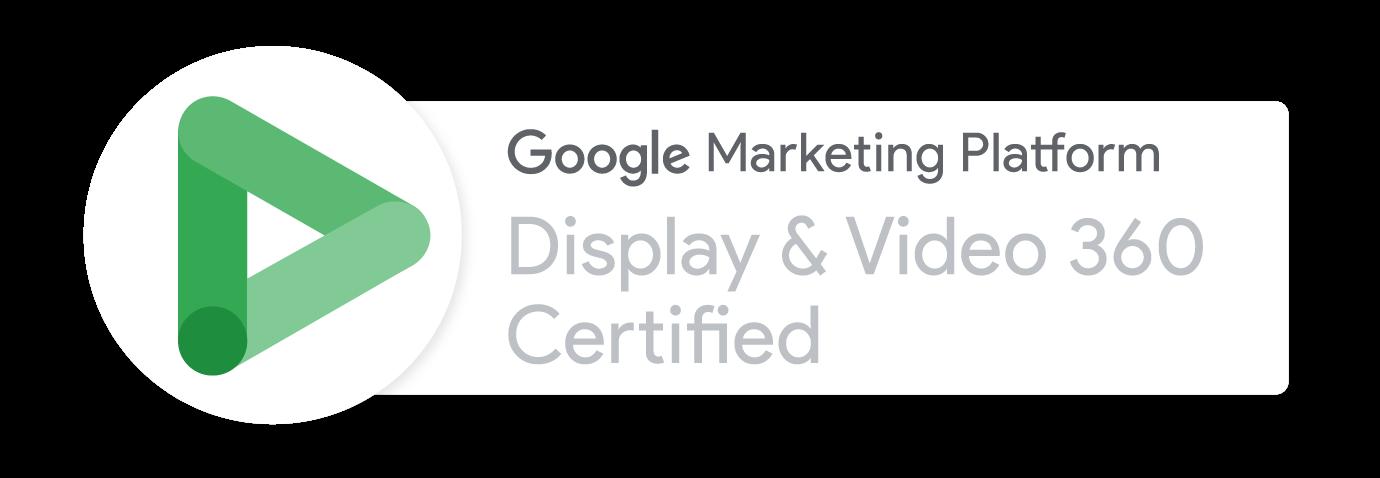 Display Video GMP Badge
