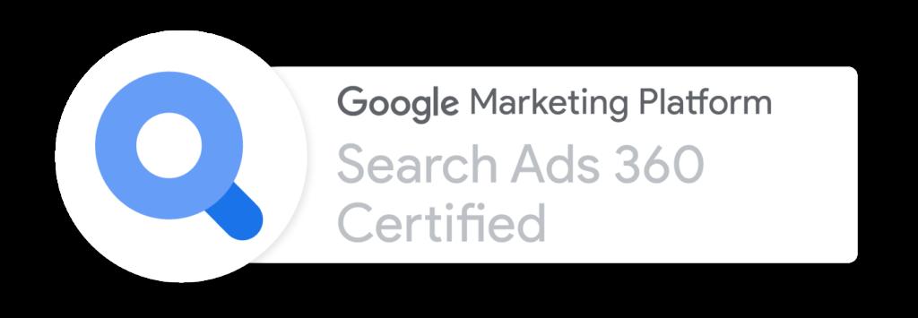 Search Ads GMP Badge